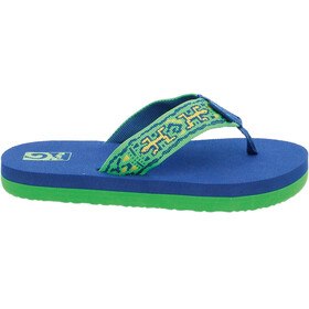 Teva Mush II Sandals Children old lizard navy/lime
